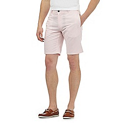 J by Jasper Conran - Big and tall pink plain shorts