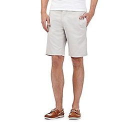 J by Jasper Conran - Big and tall beige chino shorts