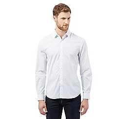 J by Jasper Conran - White dot print shirt