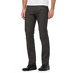 J by Jasper Conran - Dark grey straight leg jeans