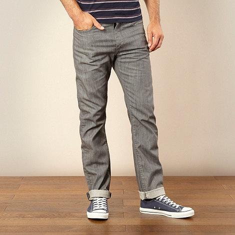 J by Jasper Conran - Designer grey rinse straight leg jeans