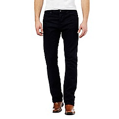 J by Jasper Conran - Navy straight fit jeans