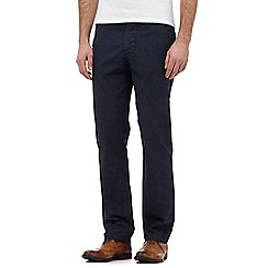 J by Jasper Conran - Navy pin dot chinos