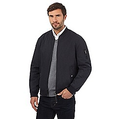 J by Jasper Conran - Big and tall navy bomber baseball jacket