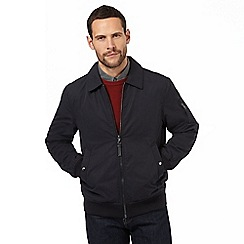 J by Jasper Conran - Big and tall navy lightweight bomber jacket