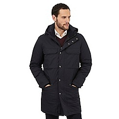 J by Jasper Conran - Big and tall navy four pocket parka
