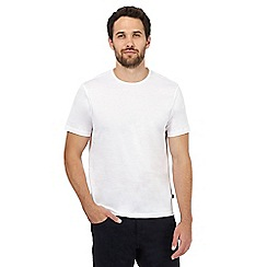 J by Jasper Conran - White plain t-shirt