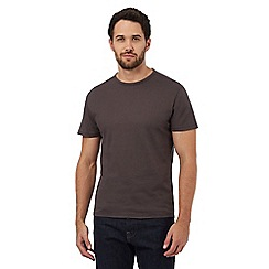 J by Jasper Conran - Grey textured t-shirt