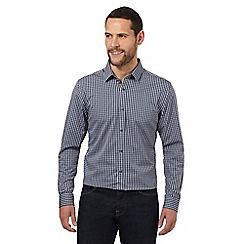 J by Jasper Conran - Blue gingham casual shirt