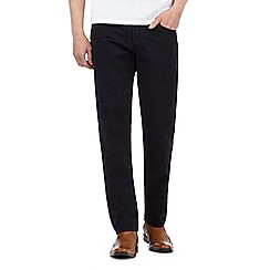 J by Jasper Conran - Navy straight fit chinos