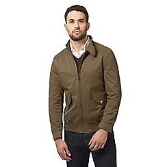 J by Jasper Conran - Big and tall khaki cedar harrington jacket