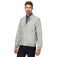 J by Jasper Conran - Light grey bomber jacket