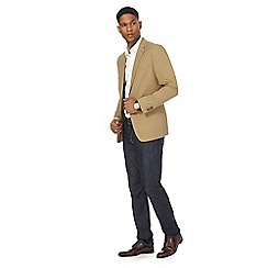 J by Jasper Conran - Big and tall tan blazer