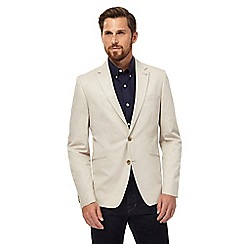 J by Jasper Conran - Big and tall natural compact blazer