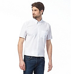 J by Jasper Conran - White seersucker shirt