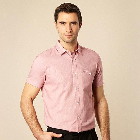 J by Jasper Conran - Red fine striped shirt
