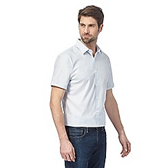 J by Jasper Conran - White textured shirt
