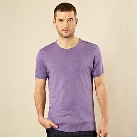 J by Jasper Conran - Designer lilac crew neck t-shirt