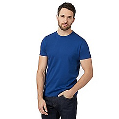 J by Jasper Conran - Blue crew neck t-shirt