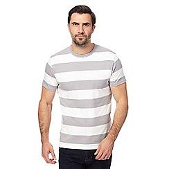 J by Jasper Conran - Grey striped t-shirt