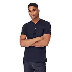 J by Jasper Conran - Navy granddad top