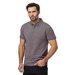 J by Jasper Conran - Grey striped polo shirt