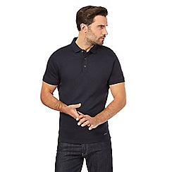 J by Jasper Conran - Big and tall navy supima polo shirt