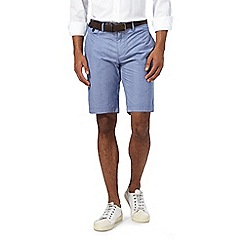 J by Jasper Conran - Light blue chino shorts with a belt