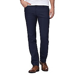 J by Jasper Conran - Big and tall mid blue slim fit jeans