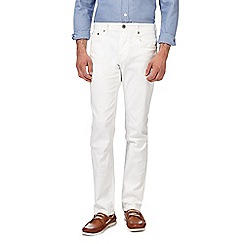 J by Jasper Conran - White slim fit jeans