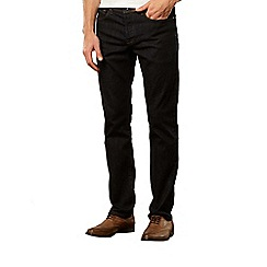 J by Jasper Conran - Designer dark blue tailored leg jeans