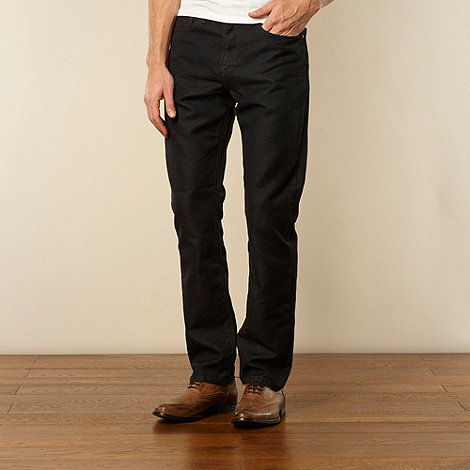 J by Jasper Conran - Designer navy straight leg jeans