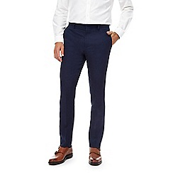J by Jasper Conran - Big and tall navy linen trousers