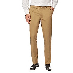 J by Jasper Conran - Tan tailored fit trousers
