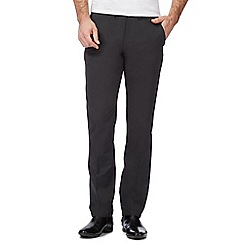 J by Jasper Conran - Dark grey straight fit chinos