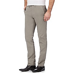J by Jasper Conran - Big and tall natural straight fit chinos