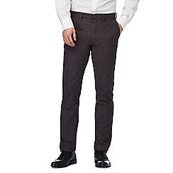 J by Jasper Conran - Grey pindot smart trousers