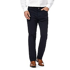 J by Jasper Conran - Big and tall navy five pocket trousers