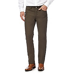 J by Jasper Conran - Khaki five pocket trousers