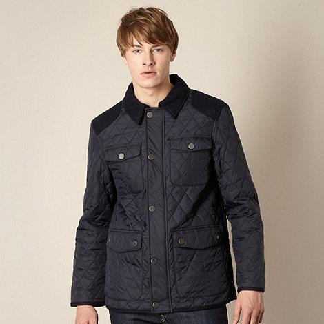 J by Jasper Conran - Designer navy quilted jacket