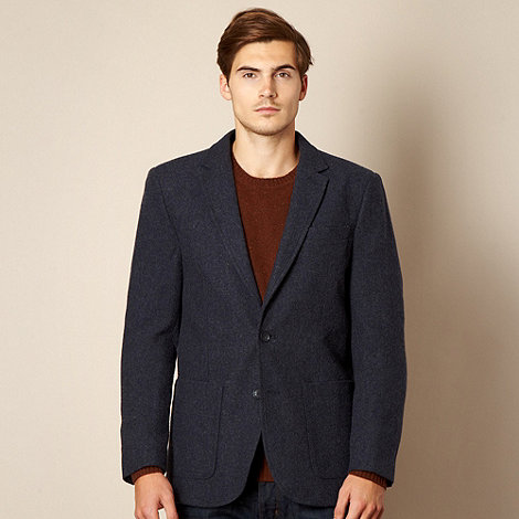 J by Jasper Conran - Designer blue wool blend blazer
