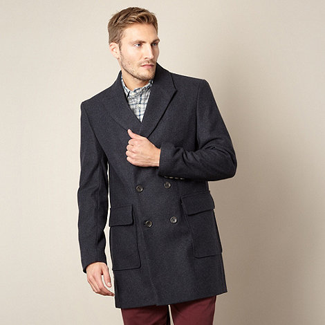 J by Jasper Conran - Designer navy double breasted coat