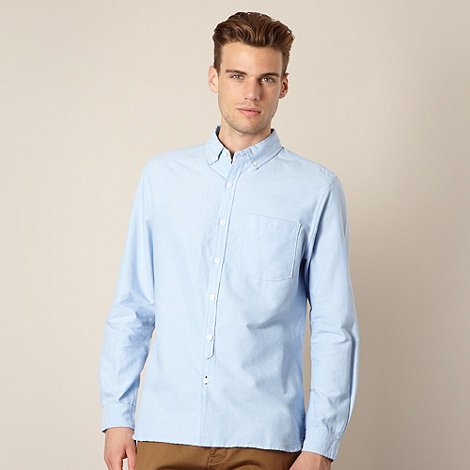 J by Jasper Conran - Big and tall designer light blue oxford shirt