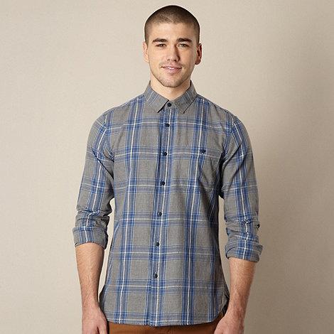 J by Jasper Conran - Designer grey checked shirt
