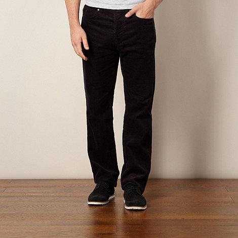 J by Jasper Conran - Designer navy cord trousers