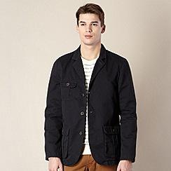 J by Jasper Conran - Big and tall designer navy four pocket blazer