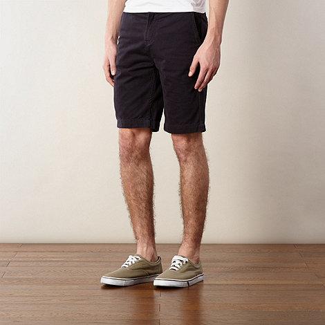 J by Jasper Conran - Designer navy twill chino shorts