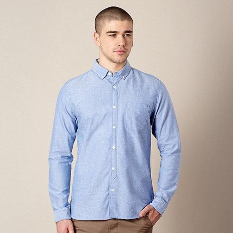 J by Jasper Conran - Designer mid blue oxford shirt