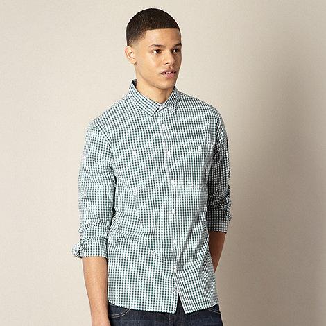 J by Jasper Conran - Designer green gingham shirt