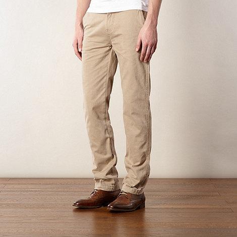 J by Jasper Conran - Designer light tan twill chino shorts